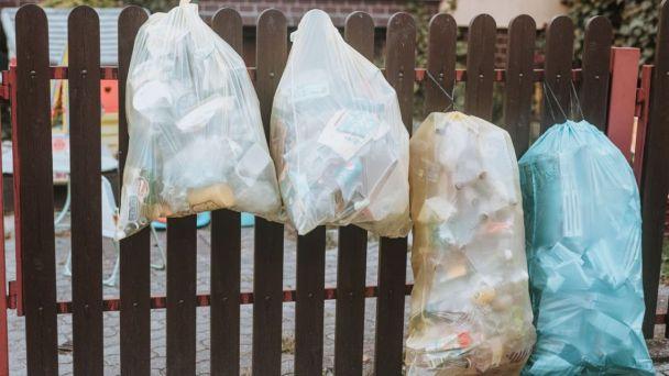 Rodinné domy - zber separovaného odpadu