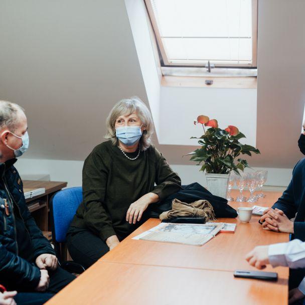 Viceprimátorka Ing. Tatiana Kratochvílová na návšteve v DNV