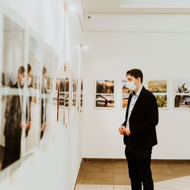 natáčanie výstavy Fotofórum 2020