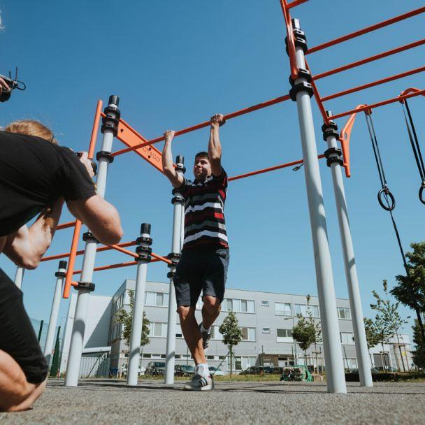 Otvorenie ihriska Workout ctPark