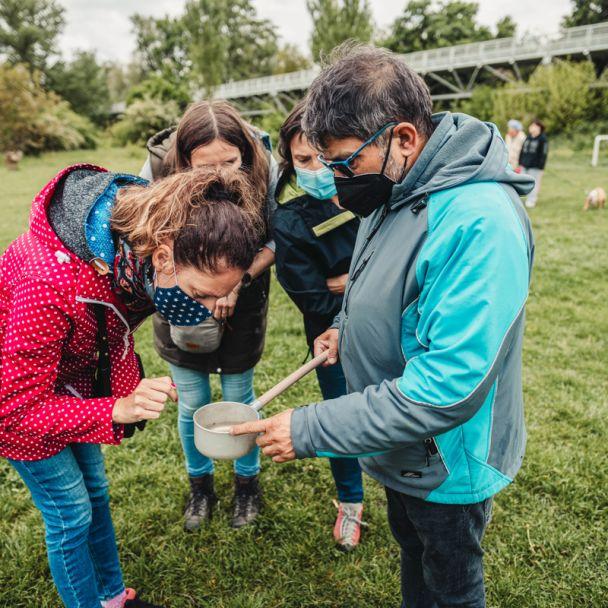 školenie lovcov komárov