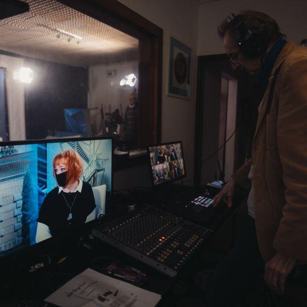 v štúdiu DTV