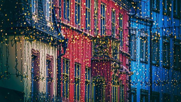 Pouličné vianočné osvetlenie