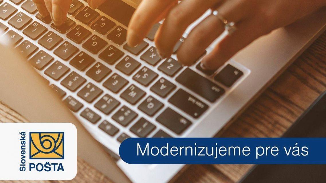 Slovenská pošta plánuje od 3.-7. 1. 2020 rozsiahlu technickú údržbu infraštruktúry