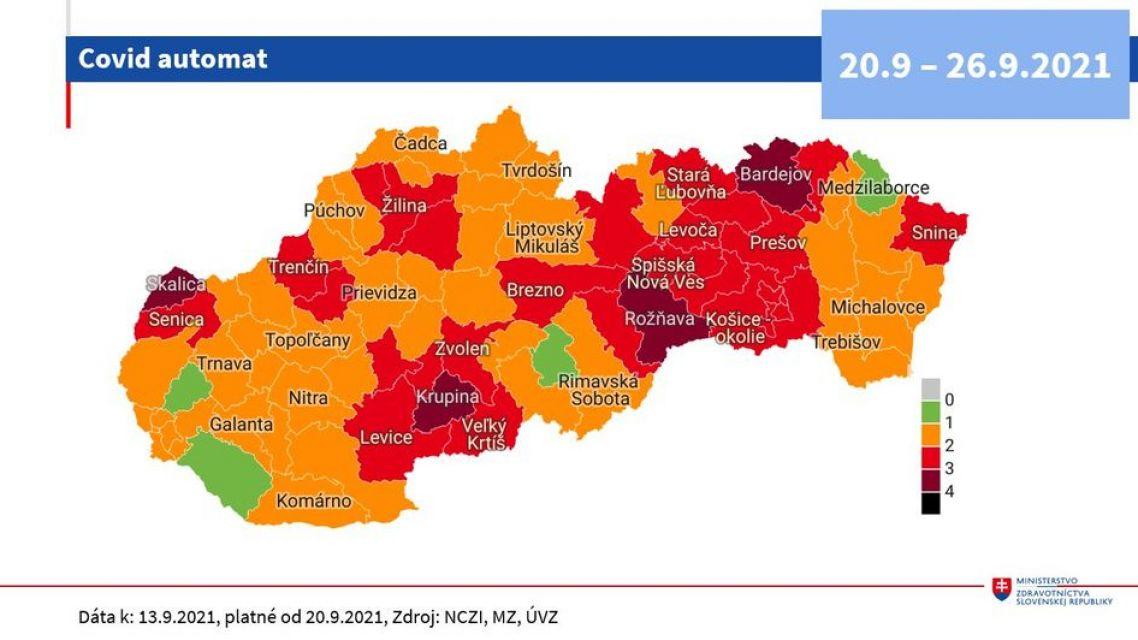 Bratislava prechádza podľa COVID automatu do oranžovej