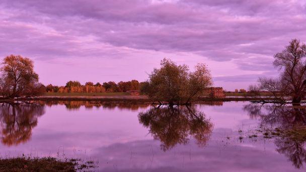 Stúpajúca hladina riek v Bratislave