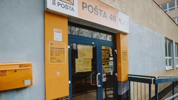 Otváracie hodiny pošty Bratislava 49