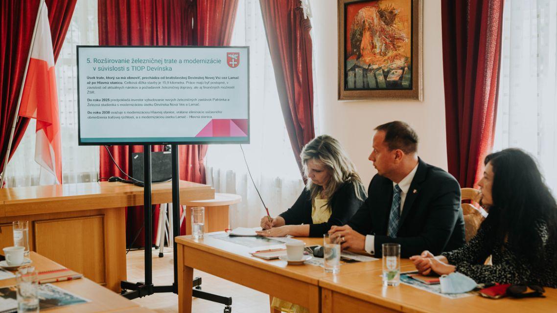 Pracovné stretnutie so štátnym tajomníkom Ministerstva výstavby a regionálneho rozvoja