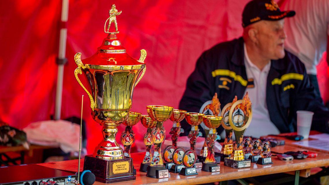 Fotoreportáž Hasičská súťaž 2021