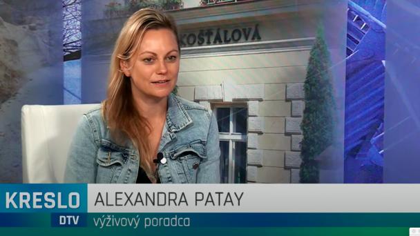 Rozhovor s výživovou poradkyňou Alexandrou Patay na tému čo jedia zdravé deti.