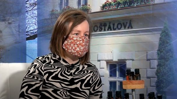 Martina Valníčková, aromaterapeutka