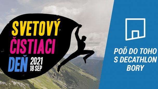 Upracme Bratislavu s Decathlon Slovensko